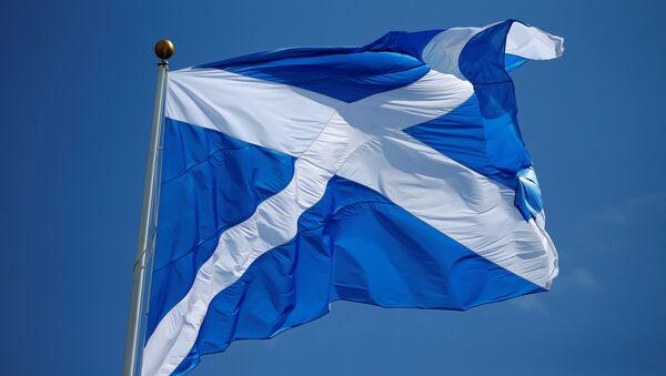 Bandera de Escocia - Sputnik Mundo
