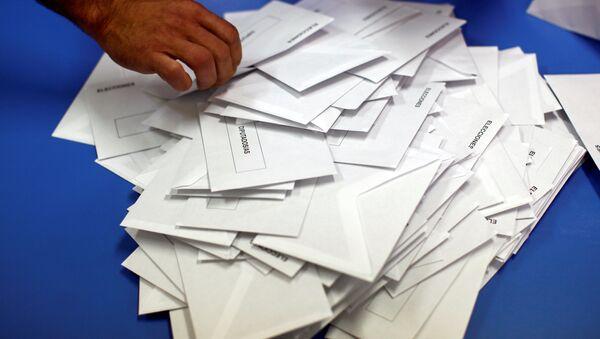 El recuento de votos en España - Sputnik Mundo