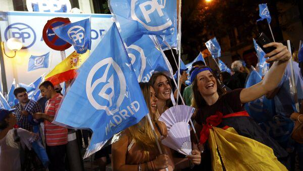 Los partidarios del PP - Sputnik Mundo