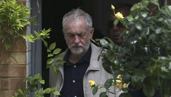 Jeremy Corbyn, líder del partido laborista en Reino Unido - Sputnik Mundo
