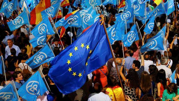 Los seguidores del Partido Popular - Sputnik Mundo