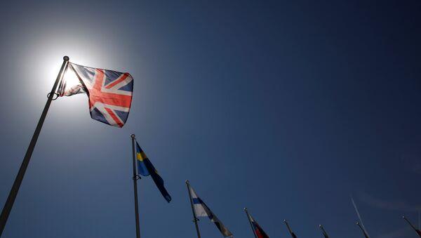 La bandera del Reino Unido - Sputnik Mundo