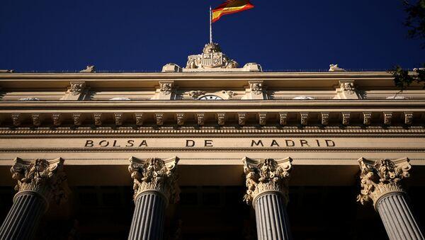 La Bolsa de Madrid - Sputnik Mundo