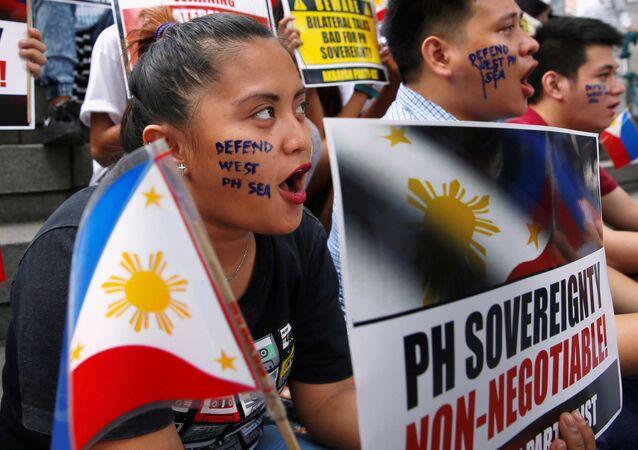 Protestas en Filipinas