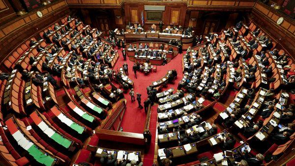 Senado de Italia en Roma (archivo) - Sputnik Mundo