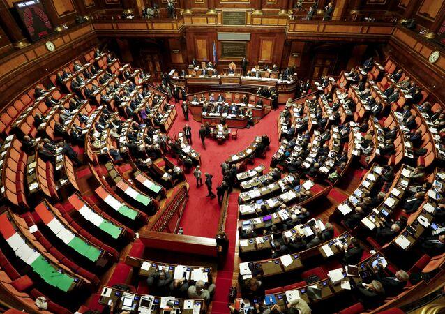 Senado de Italia en Roma (archivo)