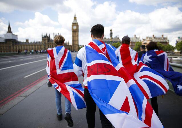 Las banderas de Reino Unido