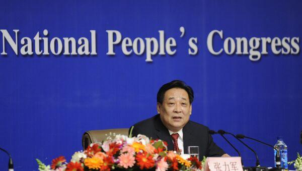 Zhang Lijun, antiguo viceministro de Medioambiente de China - Sputnik Mundo