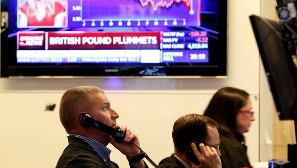 La bolsa de Nueva York (NYSE) - Sputnik Mundo