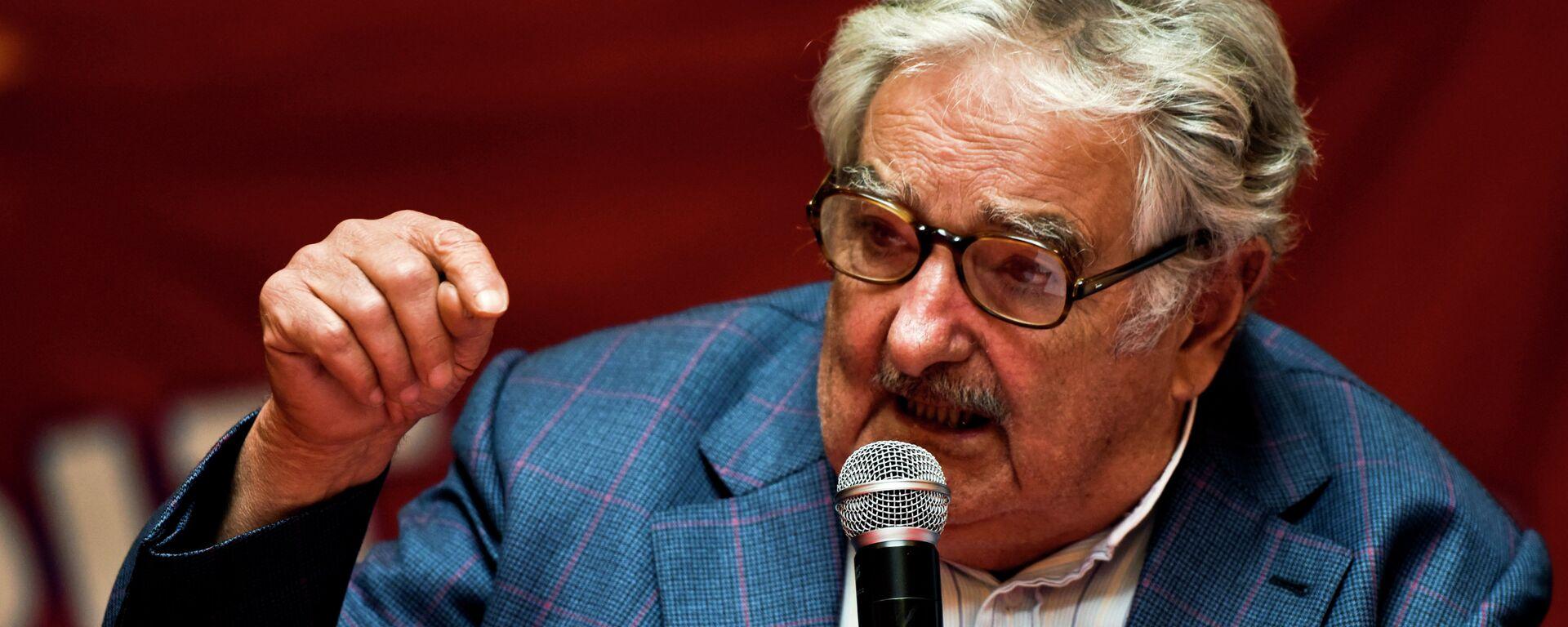 José Mujica, expresidente de Uruguay - Sputnik Mundo, 1920, 14.05.2021