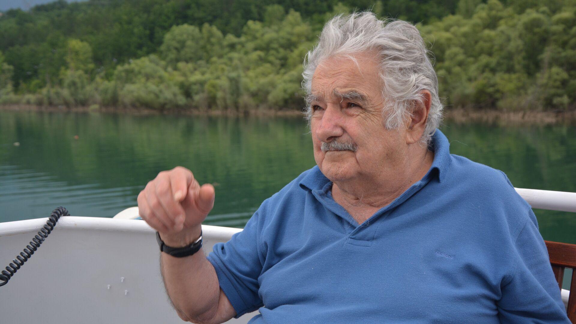 José Mujica, expresidente de Uruguay - Sputnik Mundo, 1920, 27.04.2021