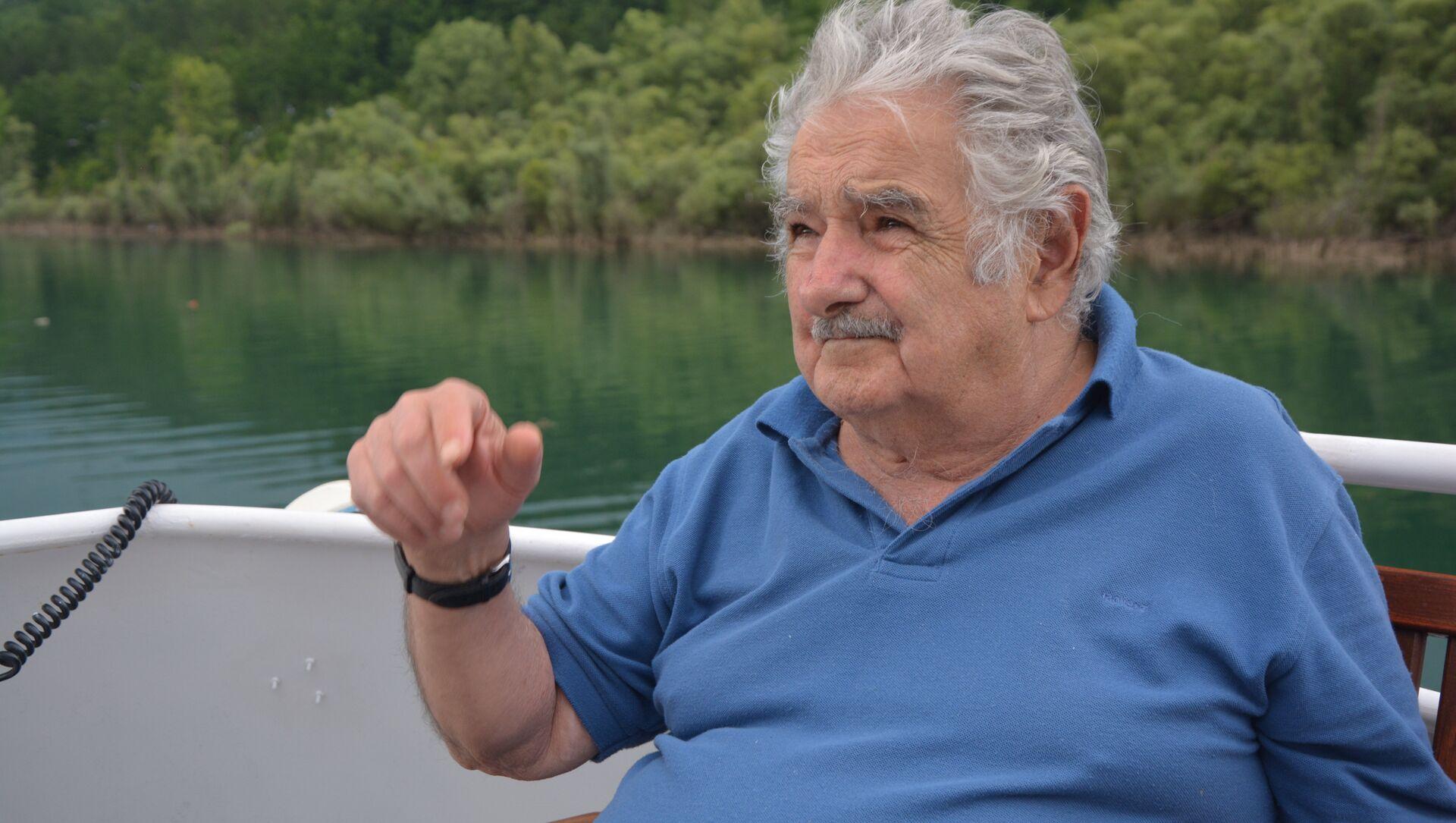 José Mujica, expresidente de Uruguay - Sputnik Mundo, 1920, 15.01.2020