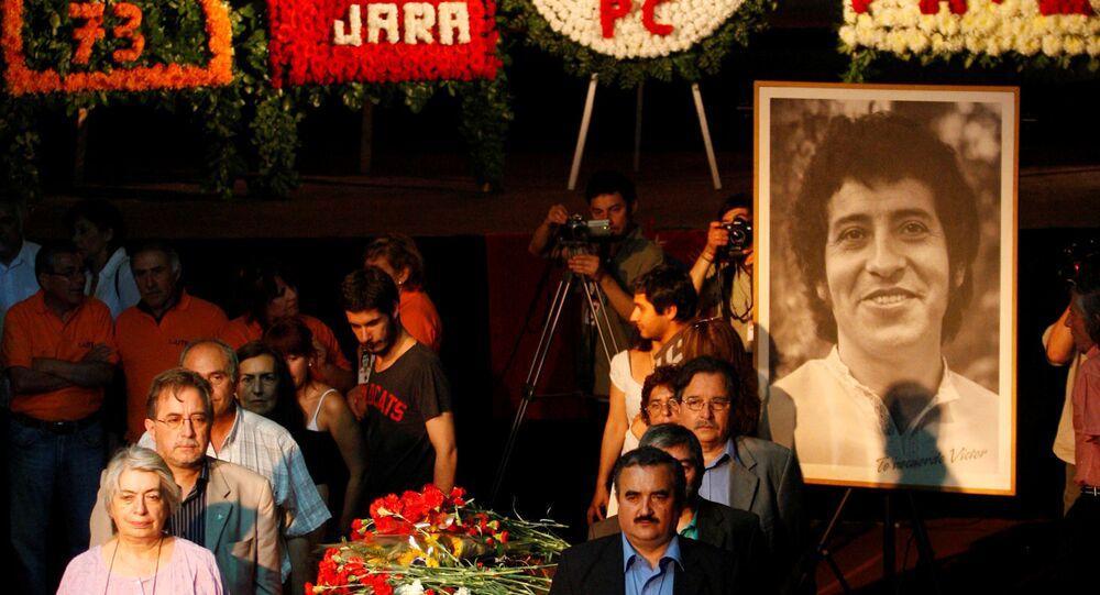 Memorial del músico Víctor Jara