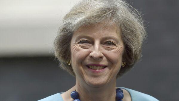 Theresa May, ministra británica del Interior del Reino Unido - Sputnik Mundo