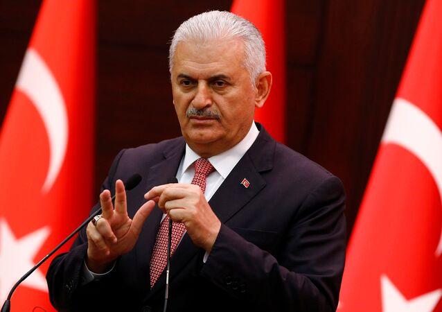 Binali Yildirim, primer ministro de Turquía