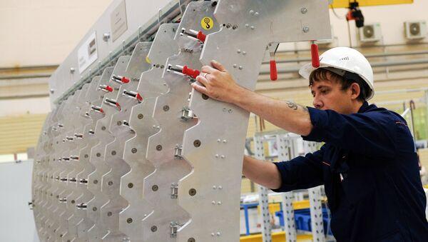 Fabricación de aviones en Rusia - Sputnik Mundo