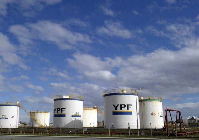 Tanques de YPF