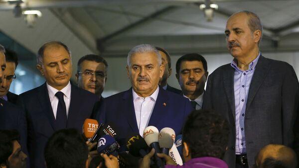 Binali Yildirim, primer ministro de Turquía - Sputnik Mundo
