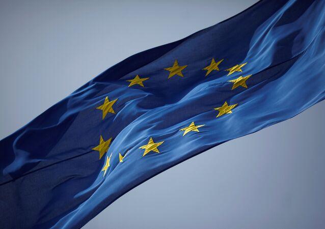 Bandera de la Unión Europea (UE)