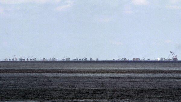 Problemas territoriales en el Mar del Sur de China - Sputnik Mundo