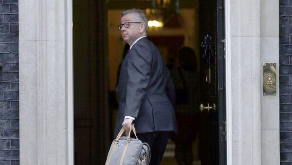 Michael Gove, ministro de Justicia de Gran Bretaña - Sputnik Mundo
