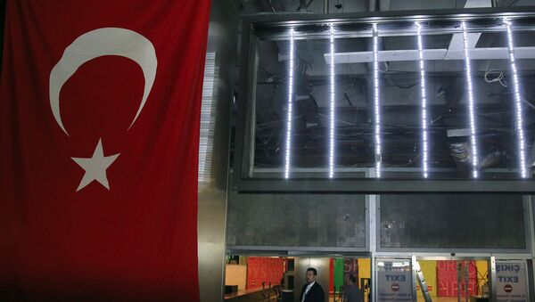El aeropuerto Ataturk en Estambul - Sputnik Mundo
