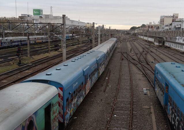 Estación de trenes en Buenos Aires (archivo)