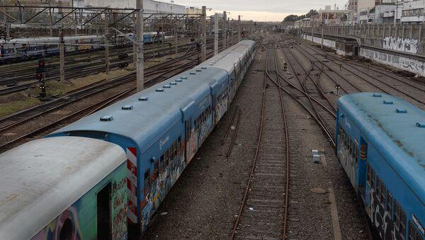 Estación de trenes en Buenos Aires (archivo) - Sputnik Mundo