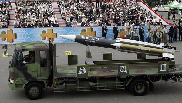 El misil antibuque Hsiung Feng III - Sputnik Mundo