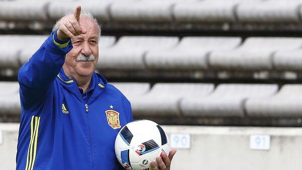 Vicente del Bosque, el seleccionador español de fútbol - Sputnik Mundo