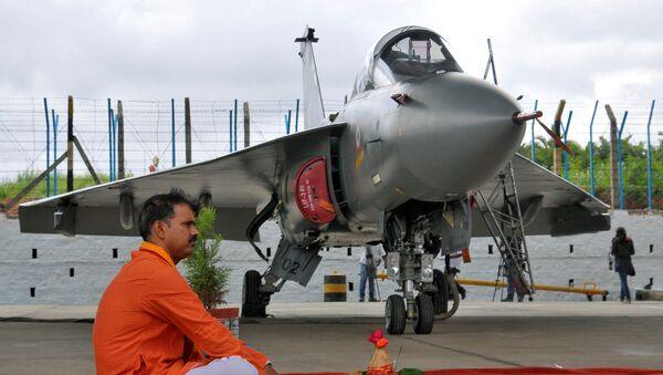 Avión de combate Tejas, India - Sputnik Mundo