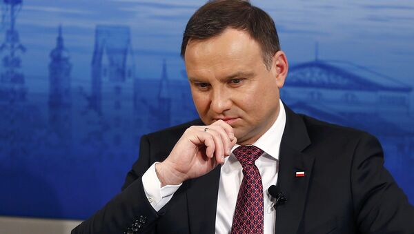Andrzej Duda, presidente de Polonia - Sputnik Mundo