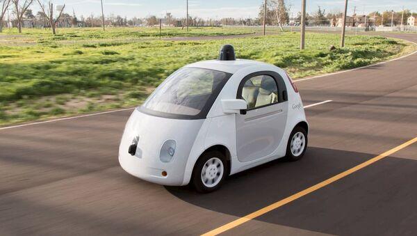 Vehículo autónomo presentado por Google - Sputnik Mundo
