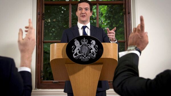 George Osborne, ex ministro de Economía del Reino Unido - Sputnik Mundo