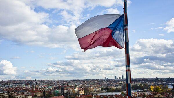 Bandera de Chequia (archivo) - Sputnik Mundo