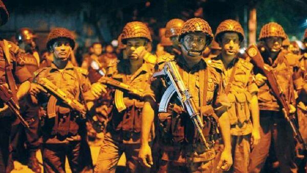 Miembros de la guardia fronteriza de Bangladés - Sputnik Mundo