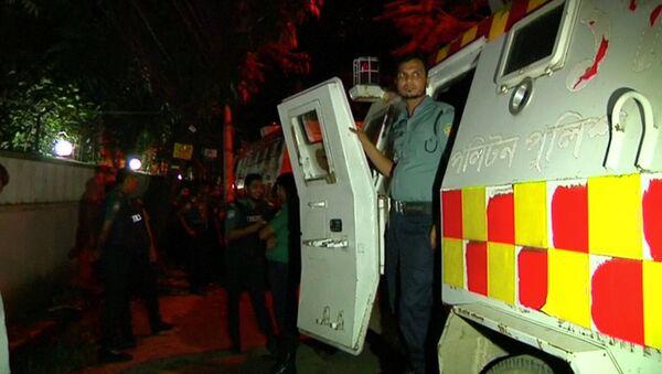 Policía de Bangladés - Sputnik Mundo