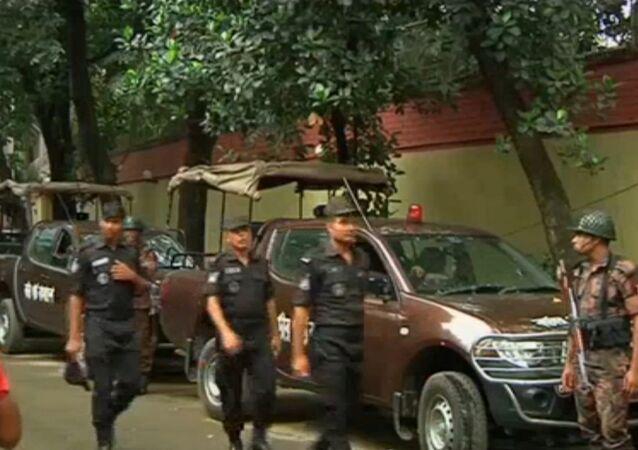 Crisis de rehenes en Daca