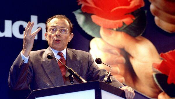 Michel Rocard, ex primer ministro de Francia, el 19 de febrero de 1993 - Sputnik Mundo