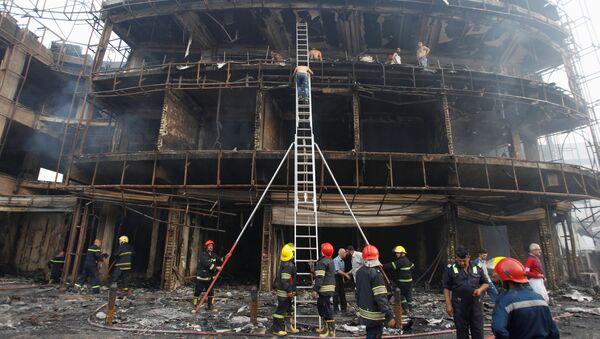 Al menos 27 muertos en un doble atentado en Bagdad - Sputnik Mundo