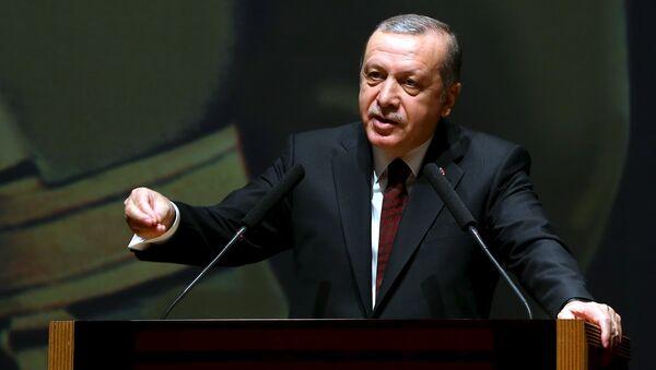 Tayyip Erdogan, presidente de Turquía - Sputnik Mundo