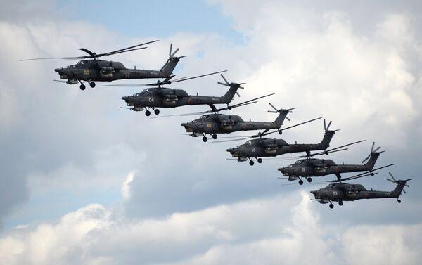 Helicópteros Mi-28N - Sputnik Mundo