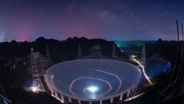 FAST, radiotelescopio más grande del mundo, construido en la provincia de Guizhou, suroeste de China - Sputnik Mundo