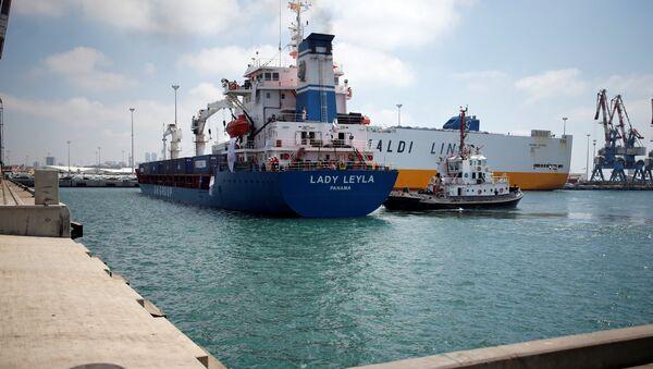 El barco turco Lady Leyla - Sputnik Mundo