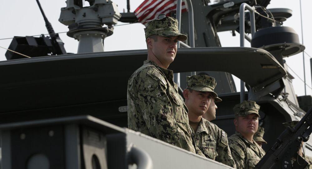 Marineros estadounidenses