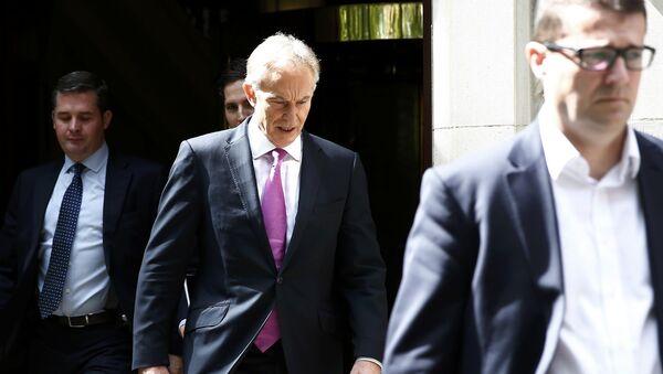Tony Blair, el ex primer ministro del Reino Unido - Sputnik Mundo