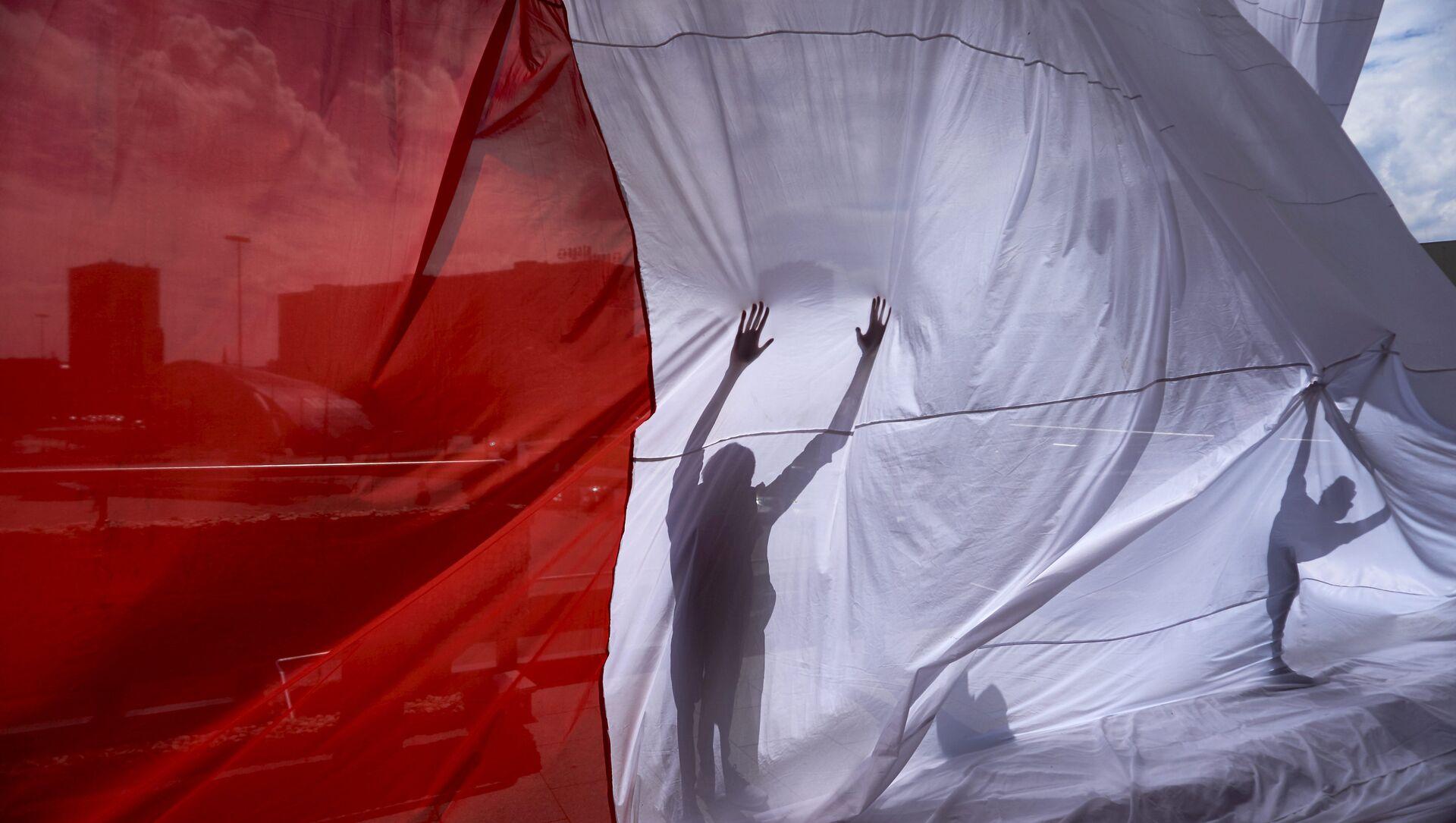 Bandera de Polonia - Sputnik Mundo, 1920, 18.03.2020