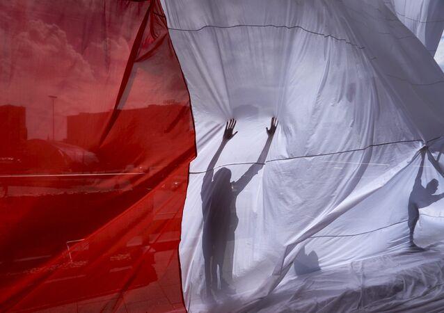 Bandera de Polonia
