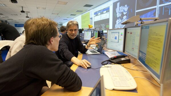ATLAS  control room - Sputnik Mundo