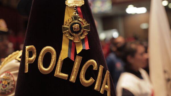 Policía de Ecuador (archivo) - Sputnik Mundo